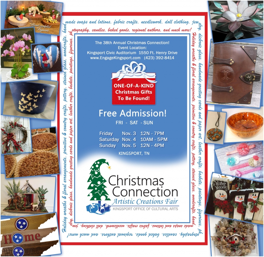 christmas connection flyer