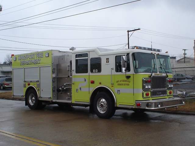Engine 3 is a 2008 Seagrave 1250 GPM Pumper