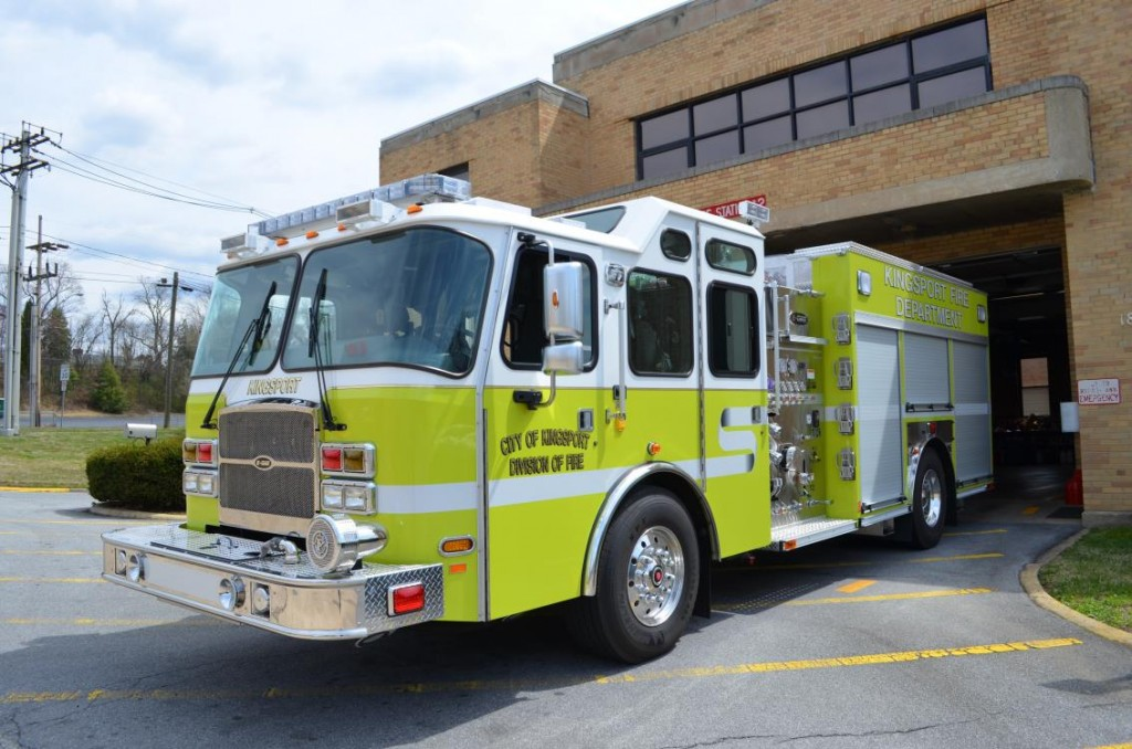 Engine 2 is a 2012 E-One 1250 GPM Pumper