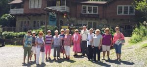 Seniors at Cliff Dwellers Gallery